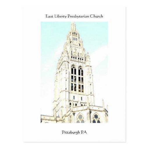 Presbyterian del este de la libertad tarjetas postales