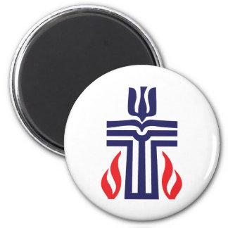 Presbyterian symbol 2 inch round magnet