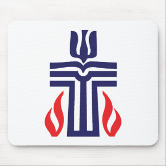 Presbyterian symbol mouse pad