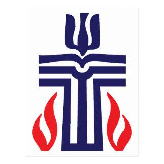 Presbyterian symbol postcard