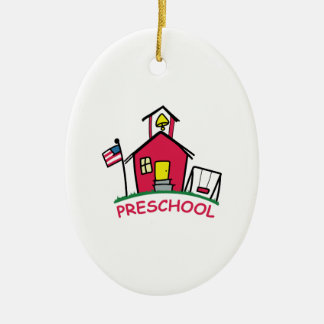 PRESCHOOL CERAMIC ORNAMENT