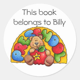 Preschool Classic Round Sticker