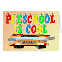 Preschool Cool Bus Card