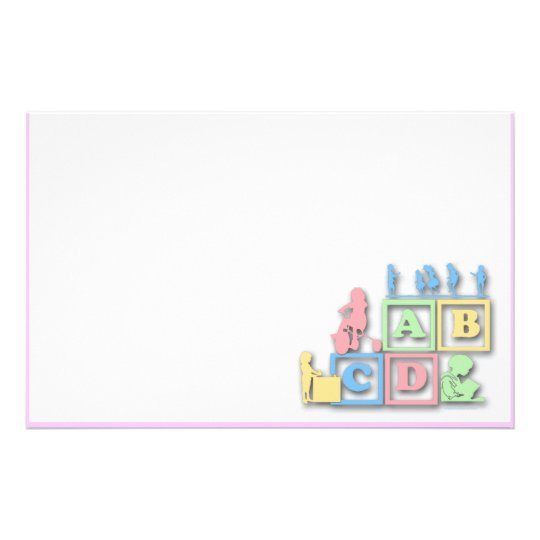 Preschool Daycare Stationery