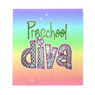 Preschool Diva School Grade Kids Girl Sparkle Notepads