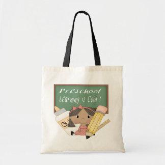 Preschool Ethnic Girl Learning is Cool Bags