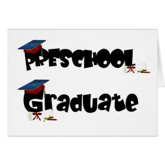 Preschool Graduate  Tshirts and Gifts Card