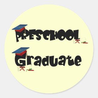 Preschool Graduate  Tshirts and Gifts Classic Round Sticker