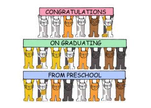 Preschool Graduation Cards