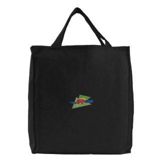 Preschool Gymnastics Mats Embroidered Tote Bag