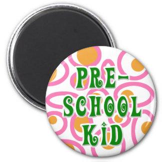 Preschool Kid Novelties 2 Inch Round Magnet