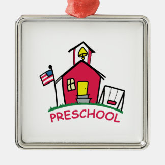 PRESCHOOL METAL ORNAMENT