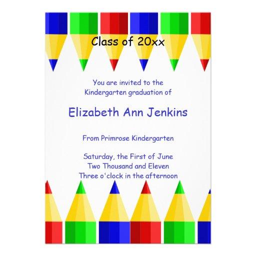 Go Back > Gallery For > Kindergarten Graduation Cards