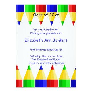 Preschool or Kindergarten Graduation Announcement