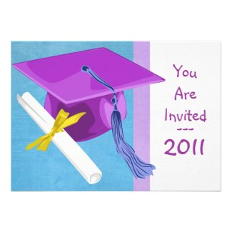 Preschool or Kindergarten Graduation Invitation