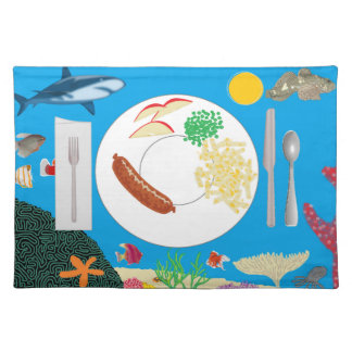 Preschool placemat layout