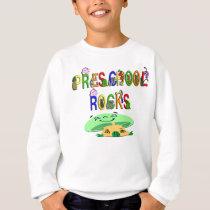 Preschool Rocks Mushroom Sweatshirt
