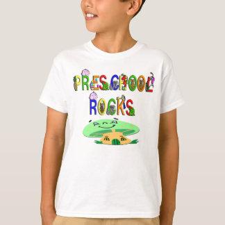 Preschool Rocks Mushroom T-Shirt