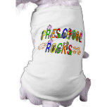 Preschool Rocks - Stars Doggie Tshirt