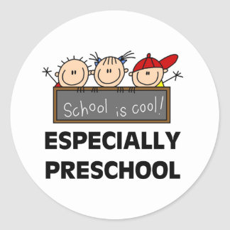 Preschool School is Cool Tshirts and Gifts Classic Round Sticker