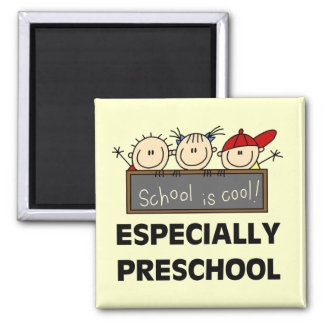 Preschool School is Cool Tshirts and Gifts Magnet