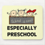 Preschool School is Cool Tshirts and Gifts Mouse Pad