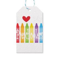 preschool teacher2 gift tags