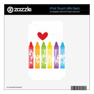 preschool teacher2 iPod touch 4G skins