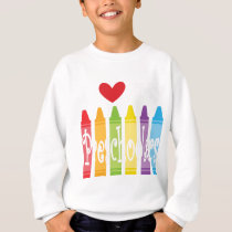 preschool teacher2 sweatshirt