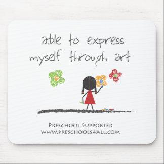 Preschool Teacher Comments Mouse Pad
