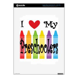 preschool teacher decal for iPad 3