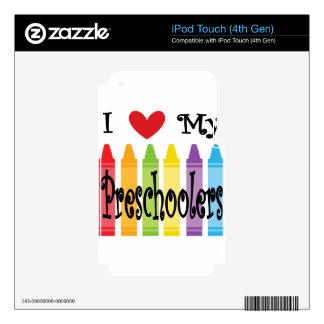 preschool teacher iPod touch 4G skin