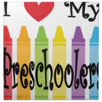 preschool teacher napkin