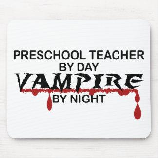 Preschool Teacher Vampire by Night Mouse Pad