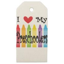 preschool teacher wooden gift tags