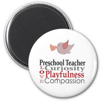 Preschool Teachers Do Kids a World Of GOOD Fridge Magnet