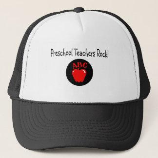 Preschool Teachers Rock Trucker Hat
