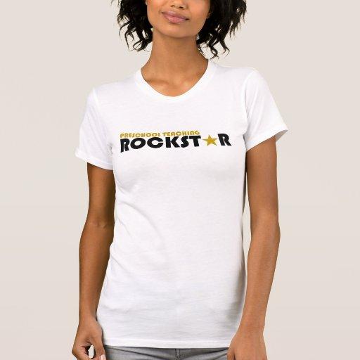 Preschool Teaching Rockstar Tees T-Shirt, Hoodie, Sweatshirt