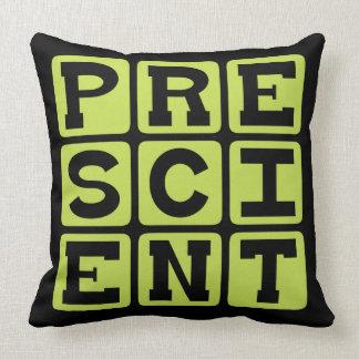 Prescient Foreknowledge Pillow