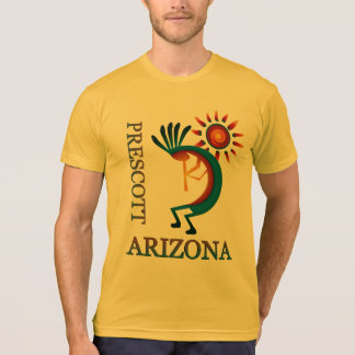 Prescott Arizona Kokopelli with Sun Gold T-Shirt