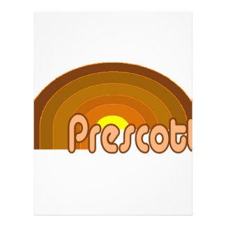 Prescott, Arizona Plantilla De Membrete