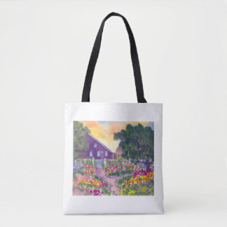Prescott Park Sunset Portsmouth NH Tote Bag