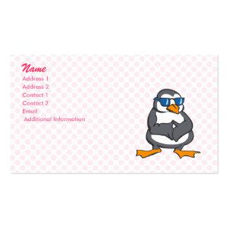 Prescott Penguin Business Card