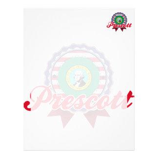 Prescott, WA Membrete Personalizado