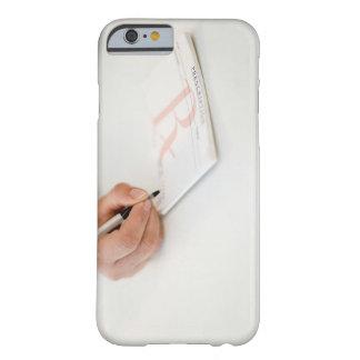 Prescripción de la escritura del doctor funda para iPhone 6 barely there