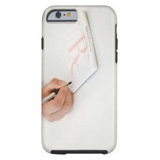 Prescripción de la escritura del doctor funda de iPhone 6 tough
