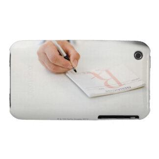 Prescripción de la escritura del doctor iPhone 3 Case-Mate coberturas