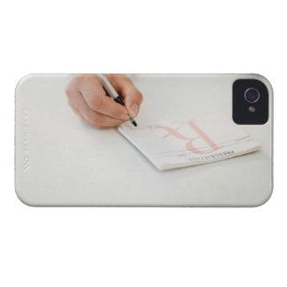 Prescripción de la escritura del doctor Case-Mate iPhone 4 coberturas