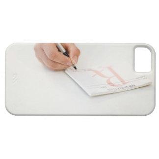 Prescripción de la escritura del doctor iPhone 5 funda