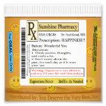 Prescripción de RX para la felicidad Cojinete